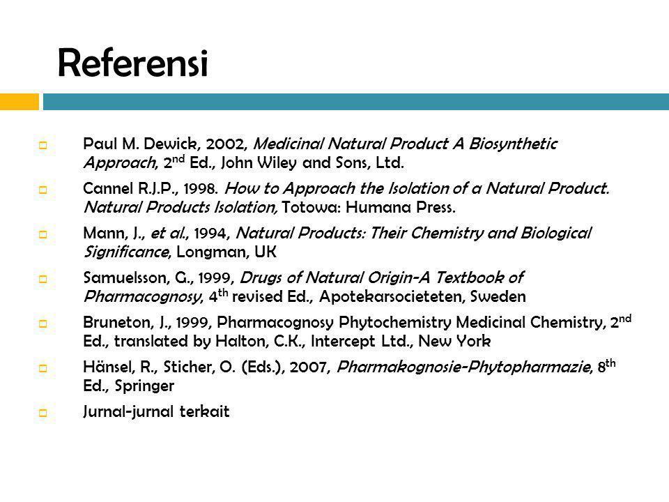 Atropa belladona Herba: 0,3 – 0,6% alkaloid terdiri atas (-)-hyosiamin, (-)-hyosin Akar: 0,4 – 0,8% alkaloid terdiri atas (-)-hiosiamin, (-)-hyosin, (-)-cuscohigrin