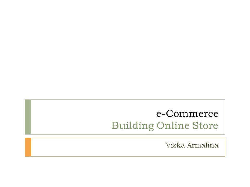 e-Commerce Building Online Store Viska Armalina
