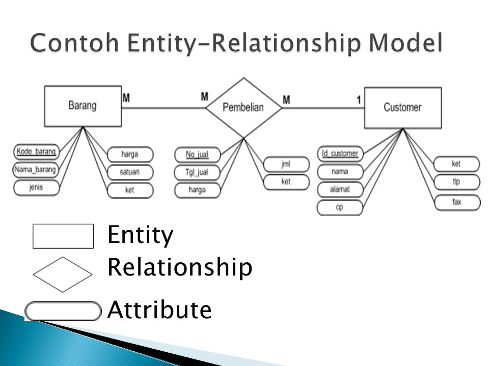 Entity Relationship Attribute