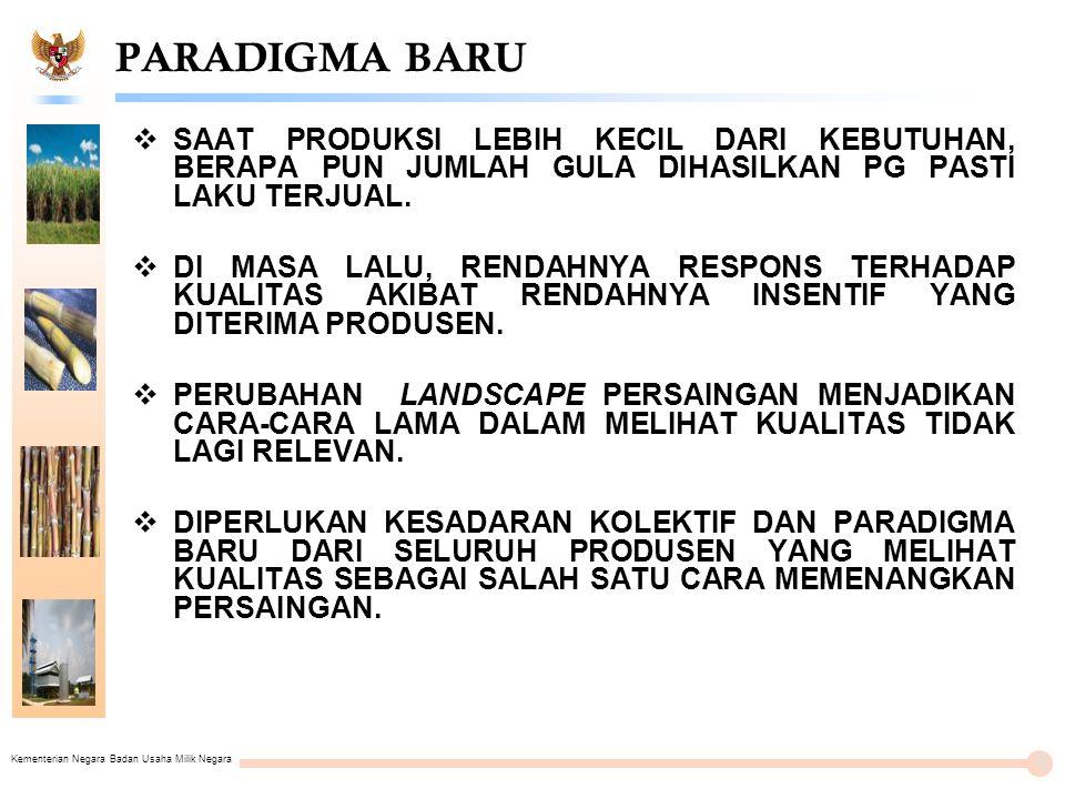Kementerian Negara Badan Usaha Milik Negara PT PERKEBUNAN NUSANTARA XI (PERSERO) 27