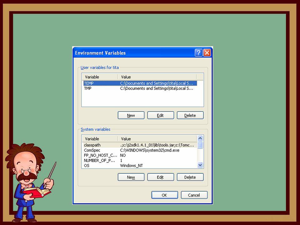 Context Sebuah Context adalah sebuah aplikasi Web yang terpisah, berdiri sendiri, independen.