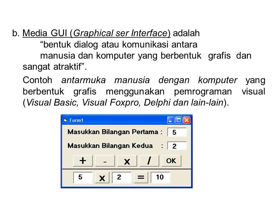 Contoh listing program dengan Borland C++ : #include main() { clrscr(); printf(