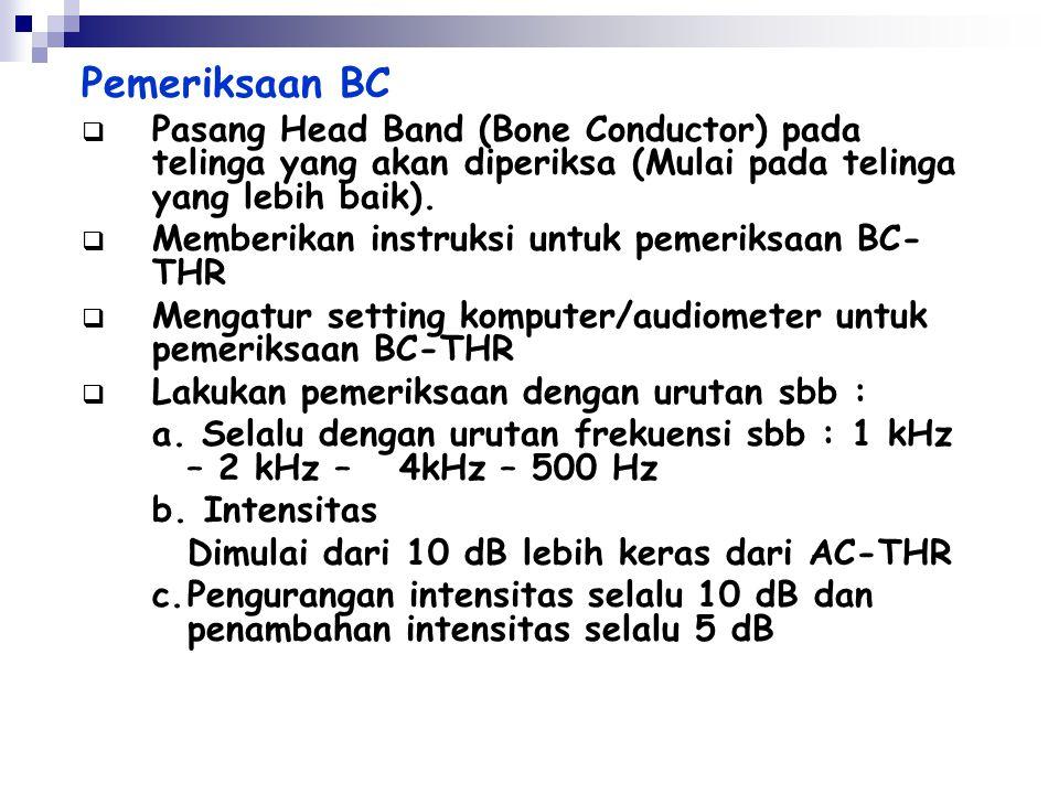 Pemeriksaan UCL  Memberikan instruksi untuk pemeriksaan AC-UCL  Mengatur setting komputer untuk pemeriksaan AC-UCL  Lakukan pemeriksaan AC-UCL deng