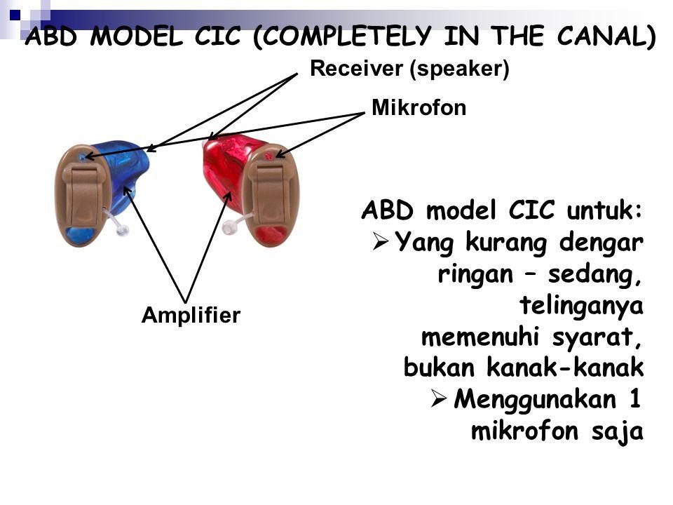 Mikrophone: menangkap gelombang suara dari udara dan mengubahnya menjadi sinyal elektrik Pengatur Volume Pintu Baterai Receiver: mengirimkan suara yan