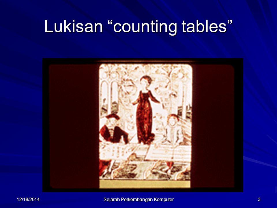 "12/18/2014 Sejarah Perkembangan Komputer 3 Lukisan ""counting tables"""