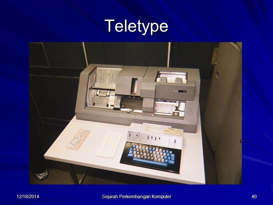12/18/2014 Sejarah Perkembangan Komputer 41 Reel Tape Drive