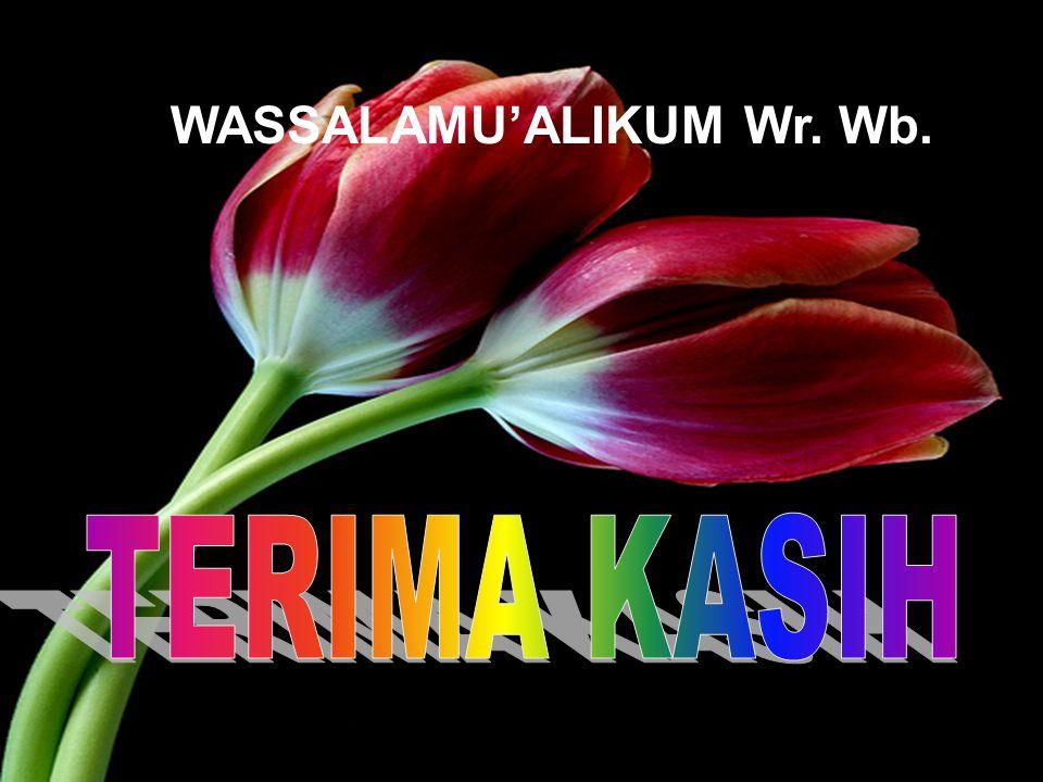 17 WASSALAMU'ALIKUM Wr. Wb.
