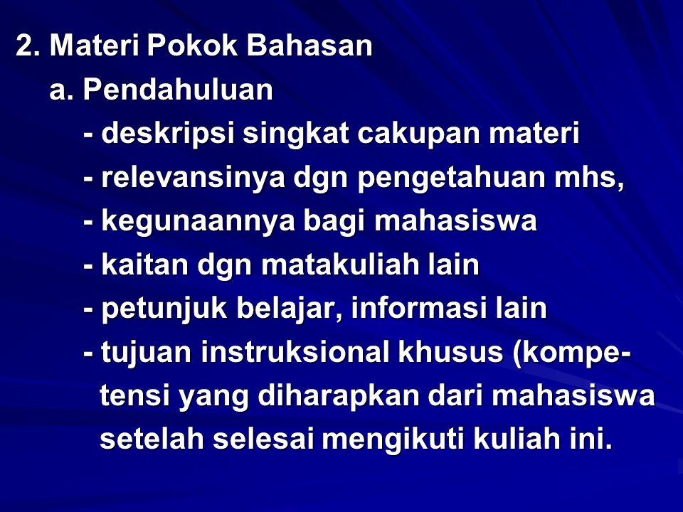 b.Presentasi materi kuliah b.