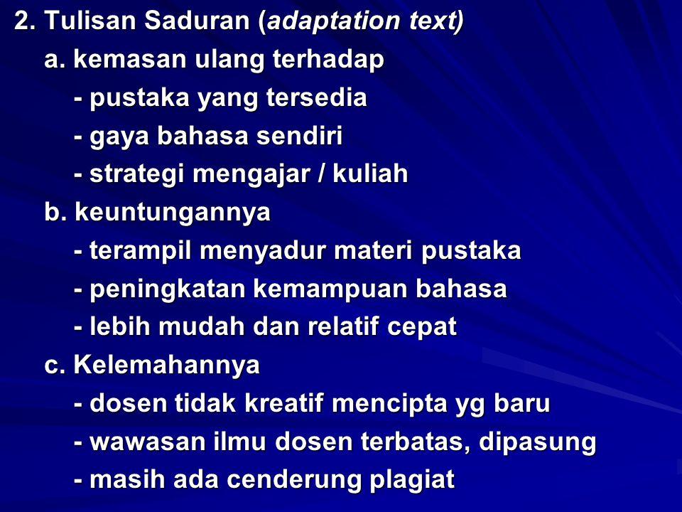 3.Tulisan Asli (original text) 3. Tulisan Asli (original text) a.
