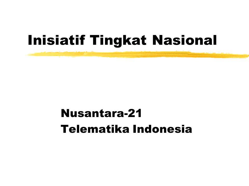 Inisiatif Tingkat Nasional Nusantara-21 Telematika Indonesia