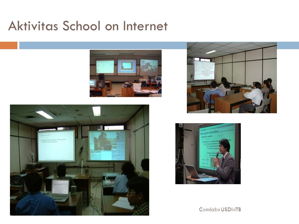 Aktivitas School on Internet Comlabs USDI-ITB18