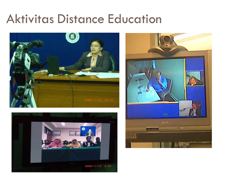 Aktivitas Distance Education