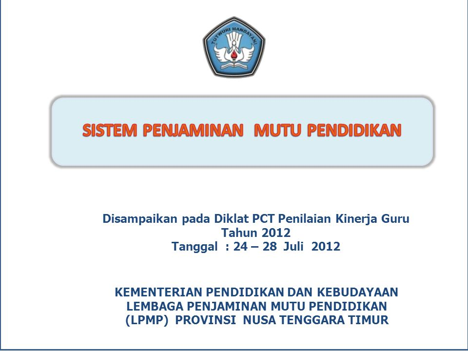 Daftar Kuota EDS per Propinsi … 3 NoLPMP20102011Total 21LPMP Maluku90538628 22LPMP Bali115800915 23 LPMP Nusa Tenggara Barat172572744 24 LPMP Nusa Tenggara Timur2239001.123 25LPMP Papua1579351.092 26LPMP Bengkulu88376464 27LPMP Maluku Utara62359421 28LPMP Banten2717721.043 29 LPMP Kep.