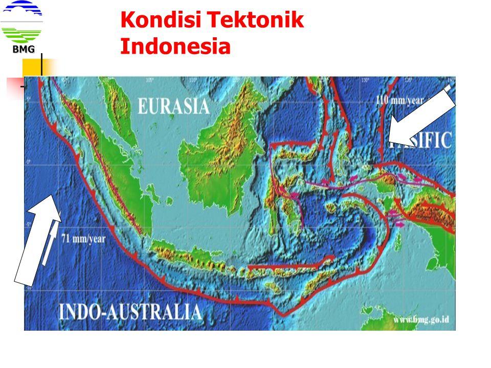 Kondisi Tektonik Indonesia BMG