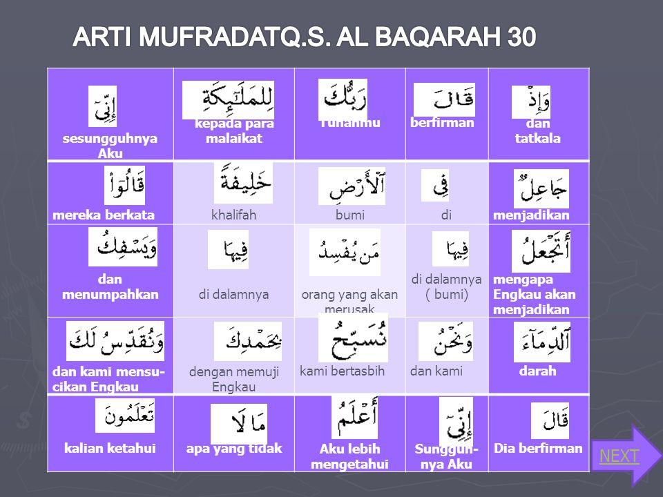 LafalHukum Bacaan membacanyaAlasan Mad tabi'i qaala panjang dua harakat fathah pada huruf qaf bertemu alif mati Mad jaiz muttasil lilmalaaaaaikati pan