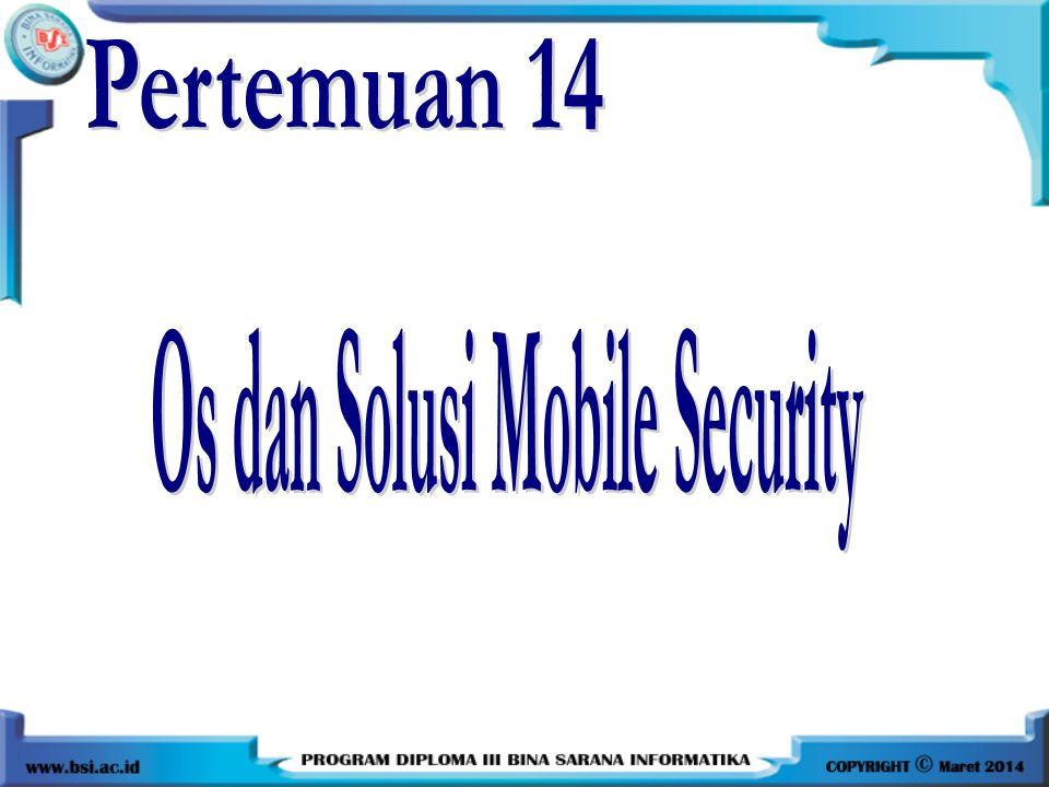 5.Security yang memiliki fasilitas Find My Phone untuk mencari smartphone yang hilang.
