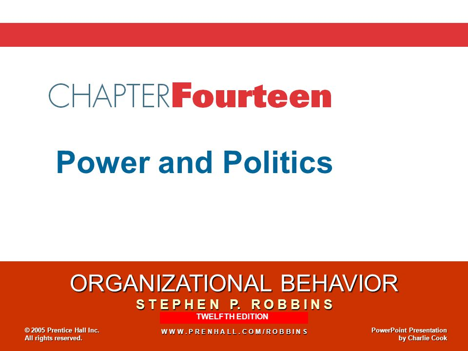 14–11 Use of Power Tactics: From Most to Least Popular E X H I B I T 13-2