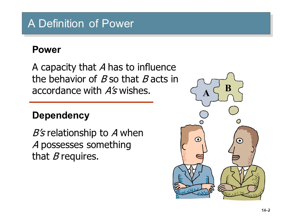 14–13 Power in Groups: Coalitions Seek to maximize their size to attain influence.