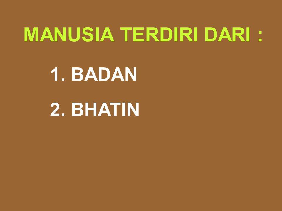 5 ENERGI PEMBENTUK BADAN 1. GENETIK 2. MAKANAN 3. TEMPERATUR 4. PIKIRAN 5. PERBUATAN