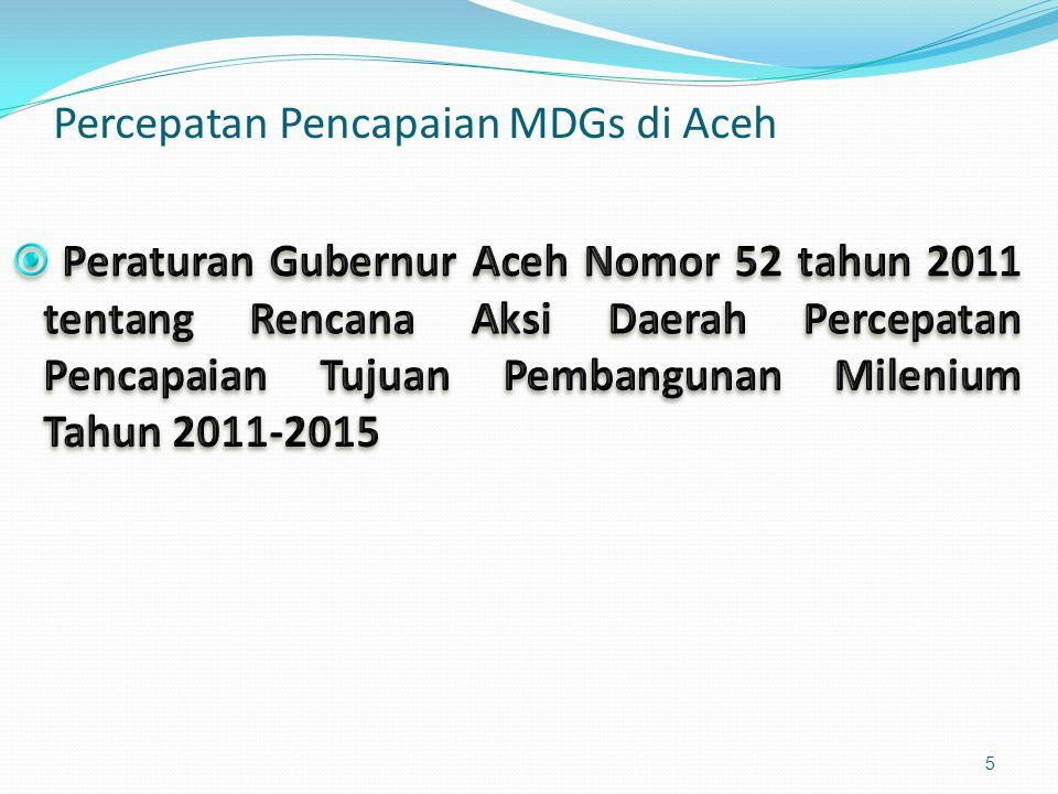 Percepatan Pencapaian MDGs di Aceh 5