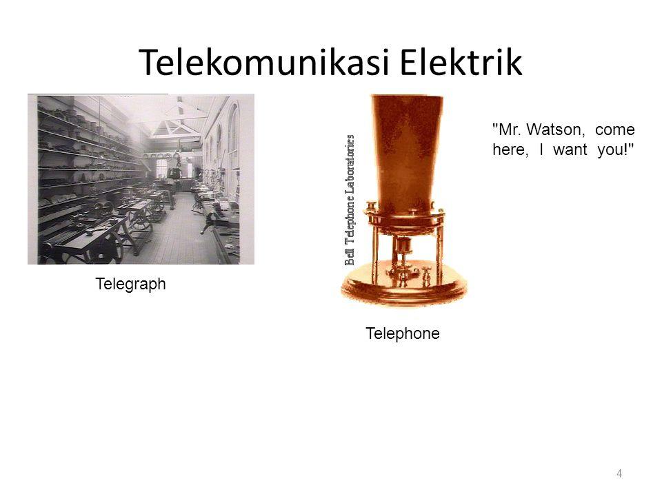 Telekomunikasi Elektrik Wireless TelegraphCathode-ray tubes 5