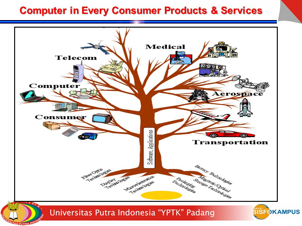 Computer in Every Consumer Products & Services