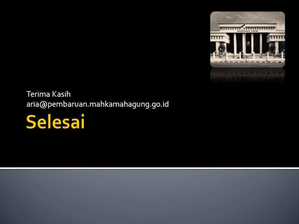 Terima Kasih aria@pembaruan.mahkamahagung.go.id
