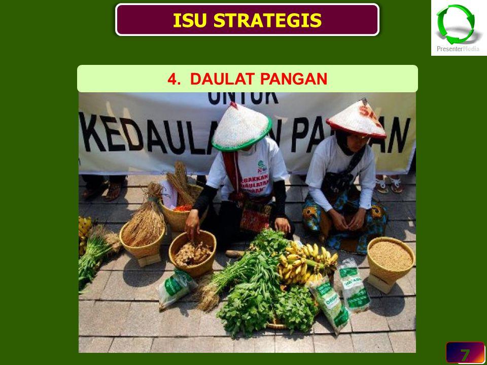 7 ISU STRATEGIS 7 4. DAULAT PANGAN