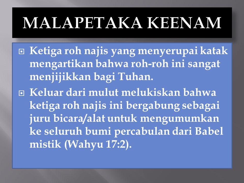  Percekcokan dan pertumpahan darah terjadi di mana-mana (14:20).