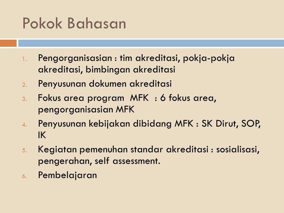 Jenis dan jumlah pelatihan yang harus dilaksanakan berdasarkan Standar dan Elemen Pengukuran KEBUTUHAN PELATIHAN