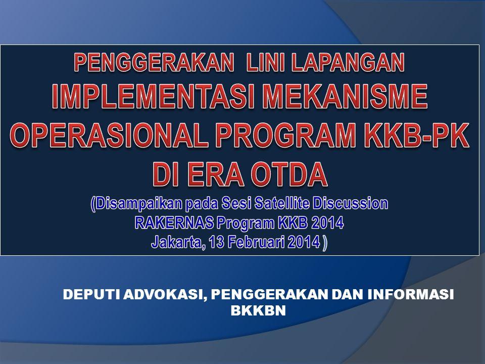 DEPUTI BIDANG ADVOKASI, PENGGERAKAN, DAN INFORMASI DR. Abidinsyah Siregar, DHSM., M.Kes