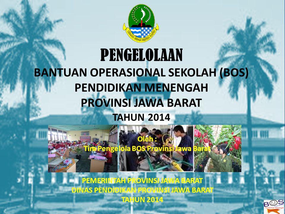Peranan BOS Provinsi dalam MBS 1) Kebebasan perencanaan, pengelolaan dan pengawasan program sesuai kondisi dan kebutuhan masing-masing sekolah.