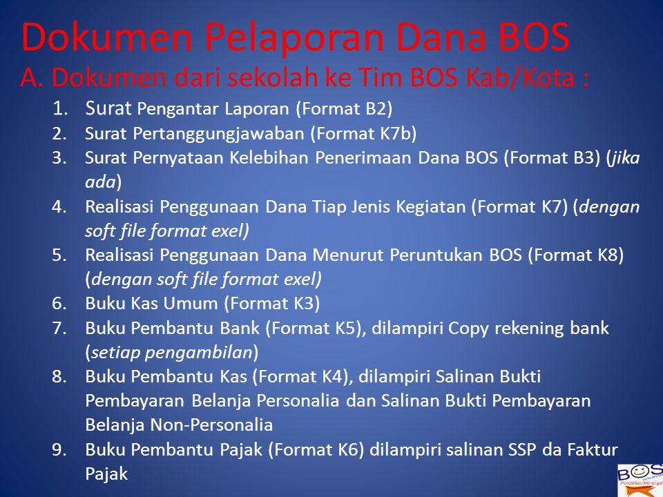 Dokumen Pelaporan Dana BOS A.