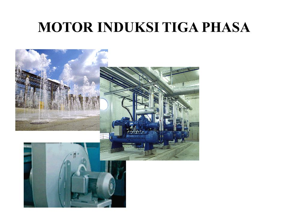 Contoh Soal A three-phase 220-V 60-Hz six-pole 10-hp induction motor has following circuit parameters on a per phase basis referrred to the stator: R S = 0.344  R' R = 0.147  X S = 0.498  X' R = 0.224  X' M = 12.6  Assuming a Y-connected stator winding.