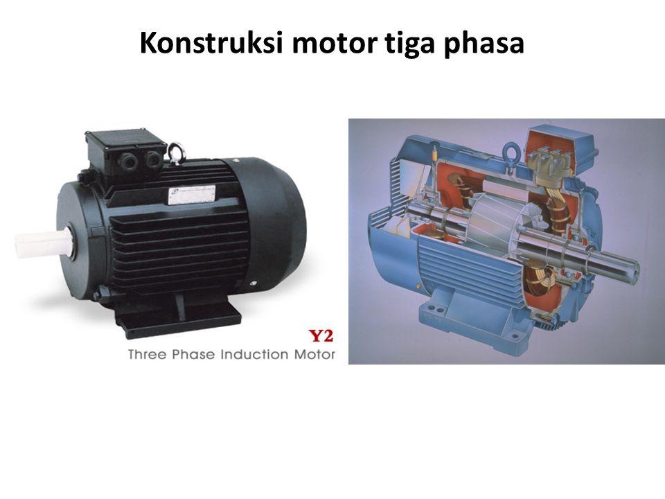 Bagian Motor Induksi Tiga Phasa