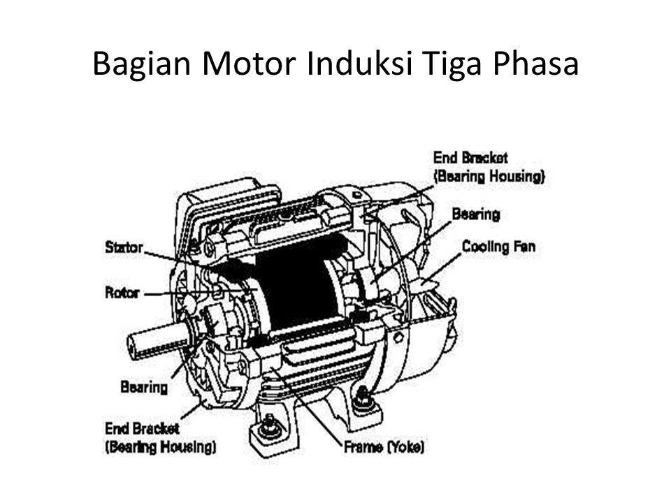 Stator -.Stator adalah bagian dari mesin yang tidak berputar dan terletak pada bagian luar.