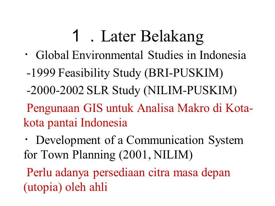 3. Kasus di Bandung (2)Data Garis Kontur DWG(CAD) > SHP(2D) > DEM > LSSG(3D)