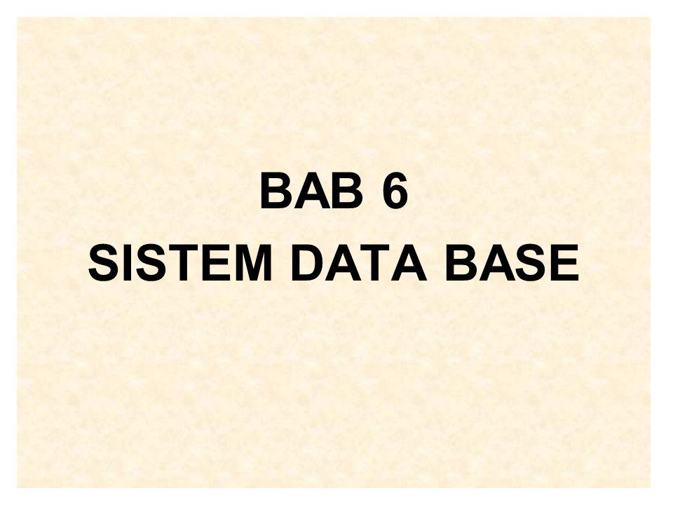 Pertanyaan 1.Deskripsikan pengertian sistem data base serta keunggulannya dibandingkan dengan sistem file.