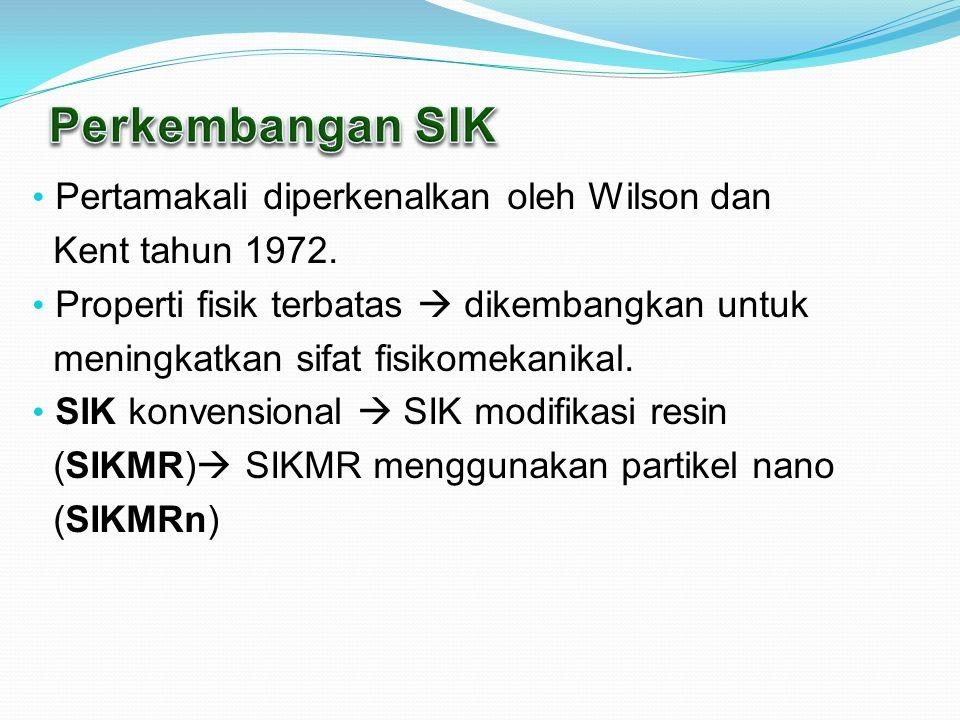 Pertamakali diperkenalkan oleh Wilson dan Kent tahun 1972.