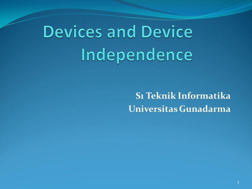 S1 Teknik Informatika Universitas Gunadarma 1