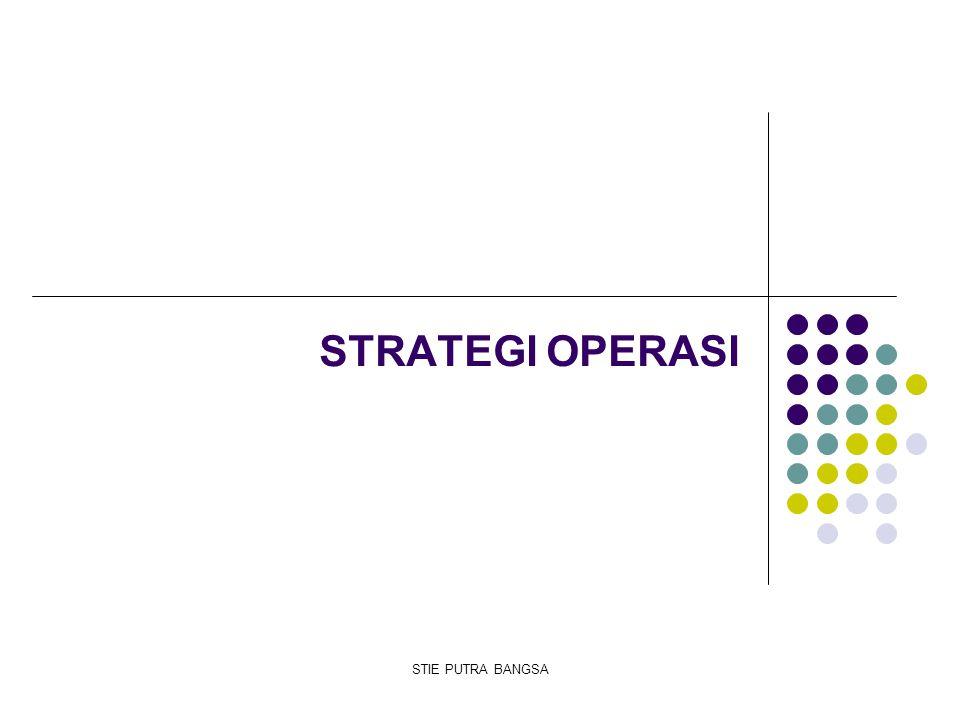 Perubahan strategi terjadi karena 2 macam : 1.