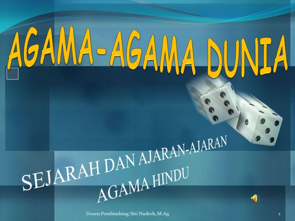 Dosen Pembimbing: Siti Nadroh, M.Ag12  BRAHMAN DAN ATMAN ADA PERBEDAAN PENGERTIAN YANG SANGAT MENDASAR ANTARA PENGERTIAN BRAHMAN DAN ATMAN DALAM UPANISHAD DENGAN PENGERTIAN KATA TERSEBUT DALAM AGAMA BRAHMANA.