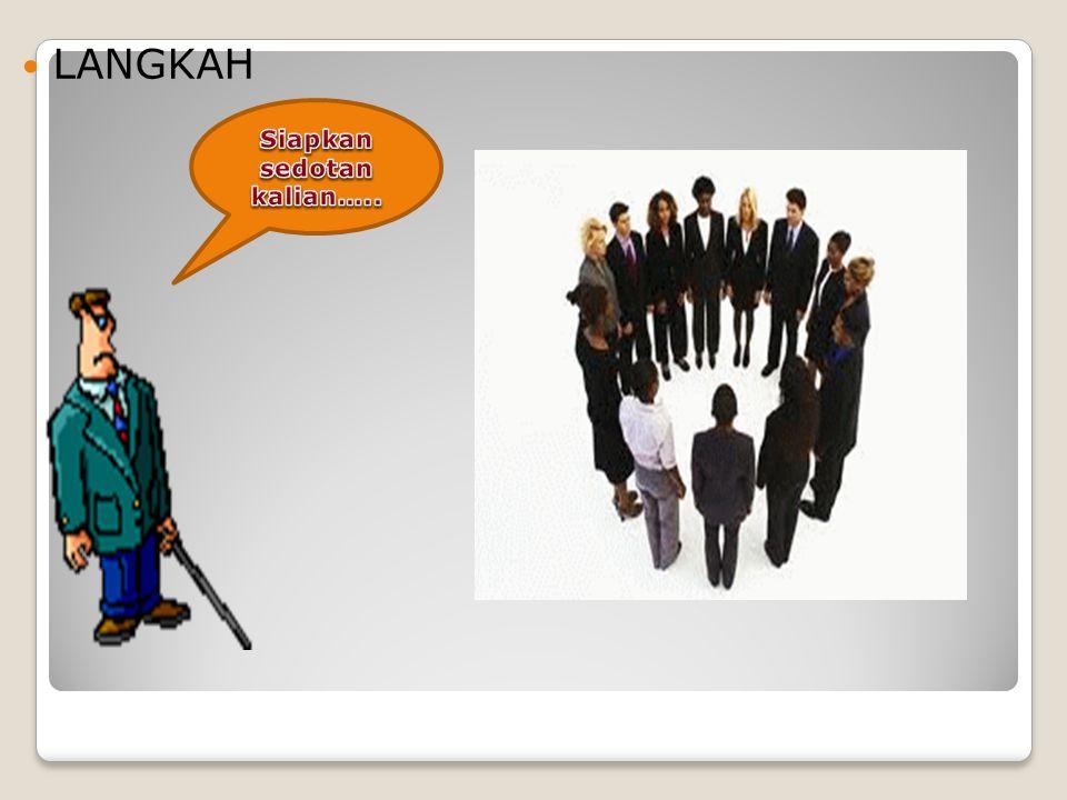 Tujuan : melatih kekompakan kelompok Langkah-Langkah: 1.Siapkan 3 kelompok untuk berbaris membanjar atau melingkar sambil membawa sedotan setiap satu orang.