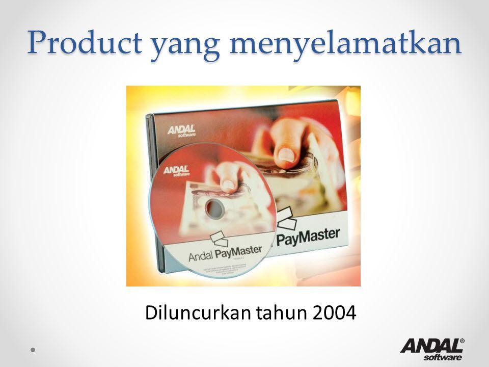 Product yang menyelamatkan Diluncurkan tahun 2004