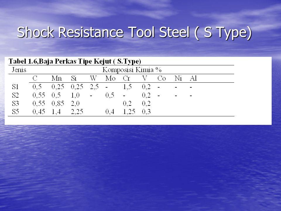 Shock Resistance Tool Steel ( S Type)