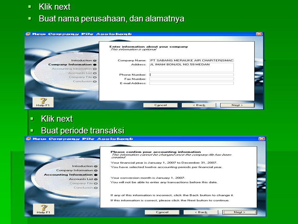 PEMBAHASAN 1.Buka program MYOB dengan mengklik ganda gambar MYOB pada desktop atau melalui menu start 2.Selanjutnya muncul menu pembuka MYOB, kemudian
