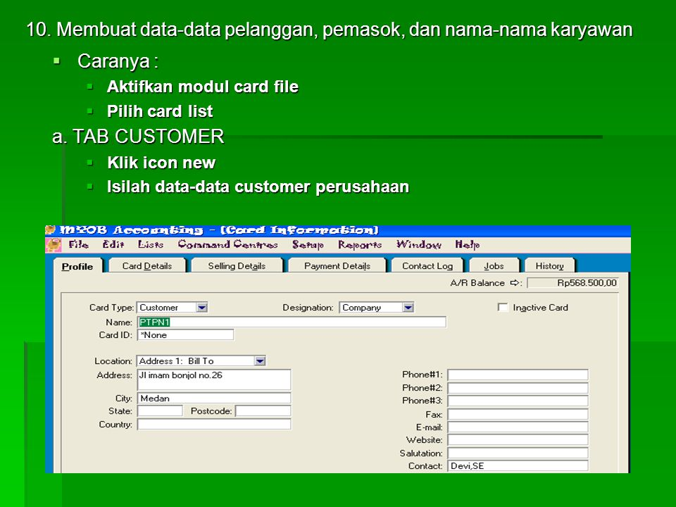 b. pilih Purchase account c. pilih payroll account