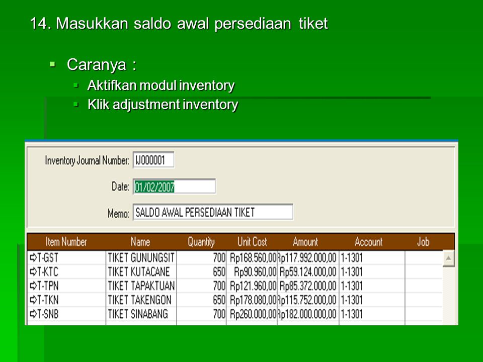  TAB BUYING DETAIL  TAB SELLING DETAIL