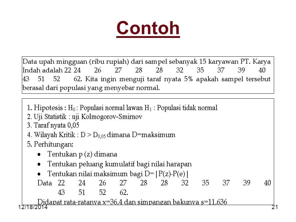12/18/201421 Contoh
