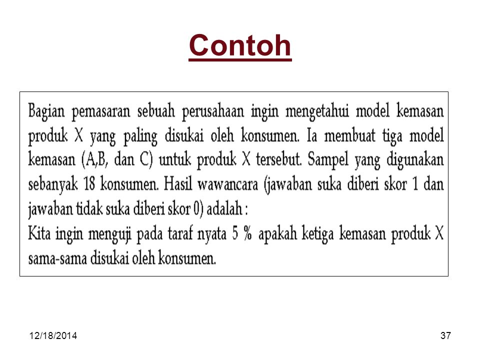 12/18/201437 Contoh